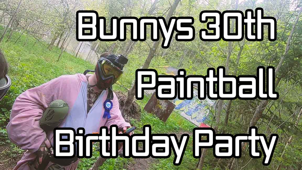 Bunnys 30th Paintball Birthday Party // A surprise of Paintball // JejjE